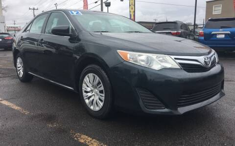 2012 Toyota Camry for sale at Universal Auto INC in Salem OR