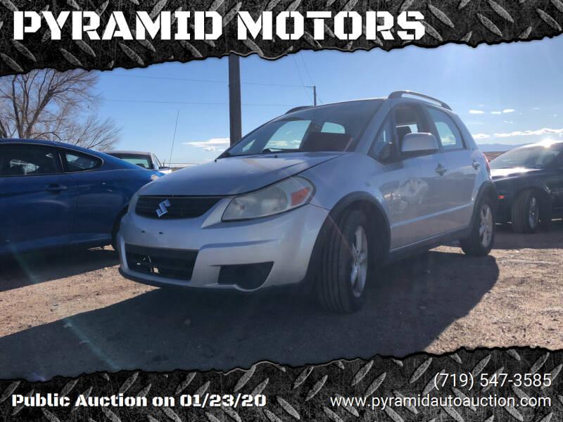 2008 Suzuki SX4 Crossover for sale at PYRAMID MOTORS - Pueblo Lot in Pueblo CO