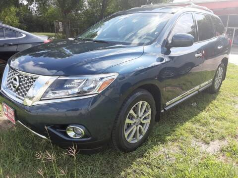2015 Nissan Pathfinder for sale at 183 Auto Sales in Lockhart TX