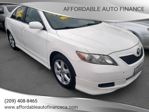 2009 Toyota Camry for sale at Affordable Auto Finance in Modesto CA