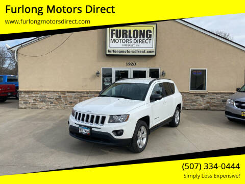 2015 Jeep Compass for sale at Furlong Motors Direct in Faribault MN