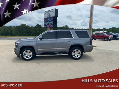 2018 Chevrolet Tahoe for sale at Hills Auto Sales in Salem AR