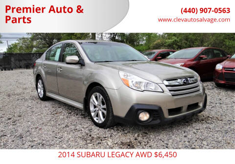 2014 Subaru Legacy for sale at Premier Auto & Parts in Elyria OH