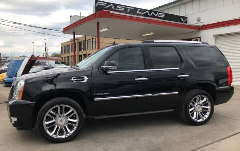 2014 Cadillac Escalade for sale at FAST LANE AUTO SALES in San Antonio TX