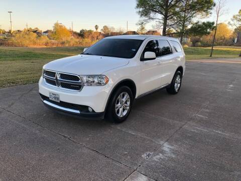 2012 Dodge Durango for sale at Orange Auto Sales in Houston TX