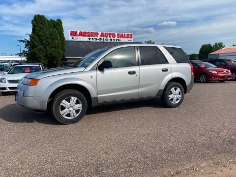 2004 Saturn Vue for sale at BLAESER AUTO LLC in Chippewa Falls WI