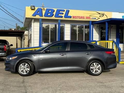 2018 Kia Optima for sale at Abel Motors, Inc. in Conroe TX