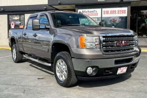 2012 GMC Sierra 2500HD for sale at Michael's Auto Plaza Latham in Latham NY