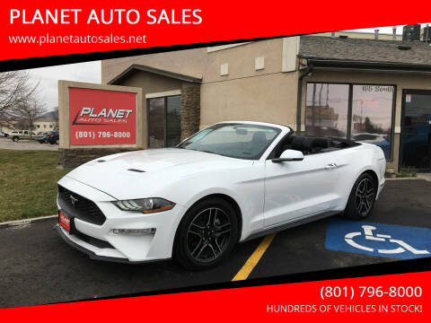2020 Ford Mustang for sale at PLANET AUTO SALES in Lindon UT