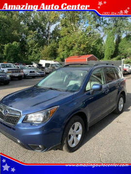 2014 Subaru Forester for sale at Amazing Auto Center in Capitol Heights MD