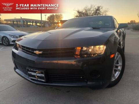 2014 Chevrolet Camaro for sale at European Motors Inc in Plano TX