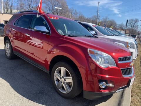 2014 Chevrolet Equinox for sale at Triangle Auto Sales in Omaha NE