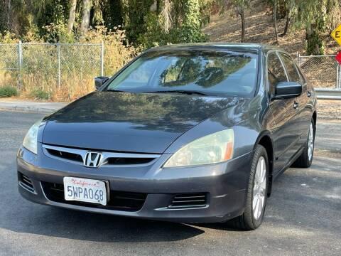 2007 Honda Accord for sale at ZaZa Motors in San Leandro CA