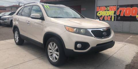 2011 Kia Sorento for sale at Sunday Car Company LLC in Phoenix AZ