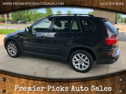 2012 BMW X5 for sale at Premier Picks Auto Sales in Bettendorf IA