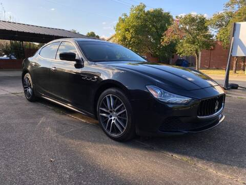 2016 Maserati Ghibli for sale at T.S. IMPORTS INC in Houston TX