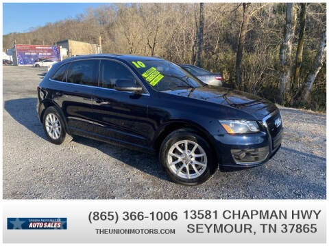 2010 Audi Q5 for sale at Union Motors in Seymour TN