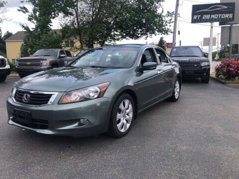 2010 Honda Accord for sale at RT28 Motors in North Reading MA