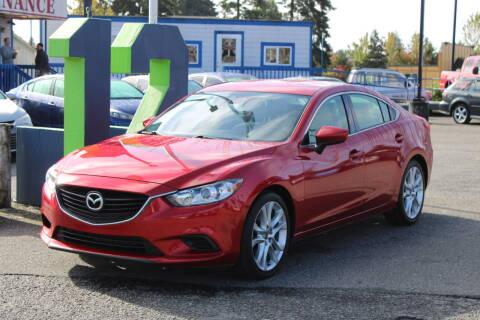 2014 Mazda MAZDA6 for sale at BAYSIDE AUTO SALES in Everett WA