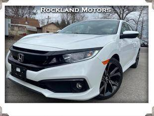 2020 Honda Civic for sale at Rockland Automall - Rockland Motors in West Nyack NY