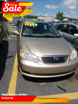 2007 Toyota Corolla for sale at Budget Auto Deal and More Services Inc in Worcester MA
