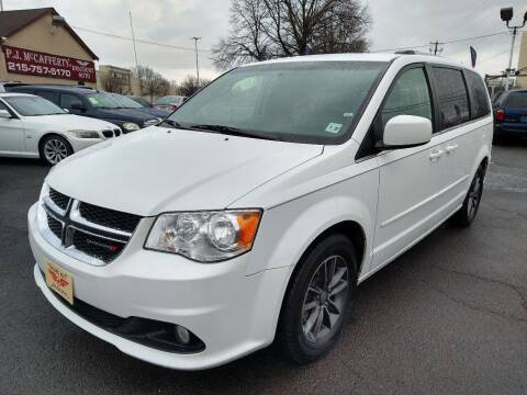 2017 Dodge Grand Caravan for sale at P J McCafferty Inc in Langhorne PA