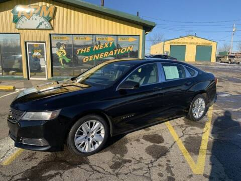 2014 Chevrolet Impala for sale at RPM AUTO SALES in Lansing MI