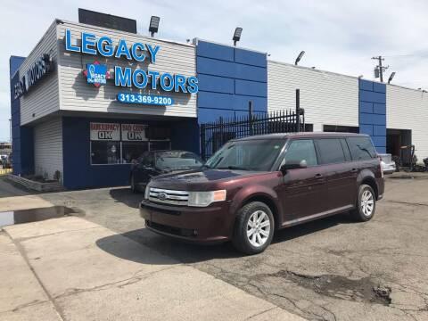 2010 Ford Flex for sale at Legacy Motors in Detroit MI
