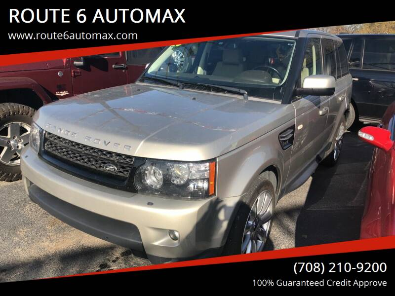 2013 Land Rover Range Rover Sport for sale at ROUTE 6 AUTOMAX in Markham IL