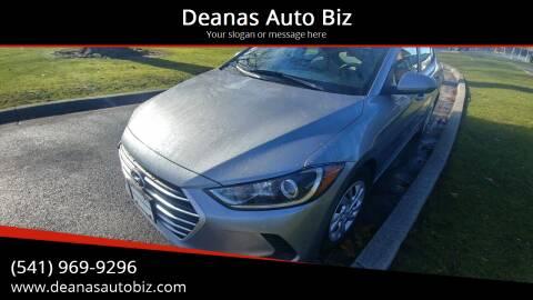 2017 Hyundai Elantra for sale at Deanas Auto Biz in Pendleton OR