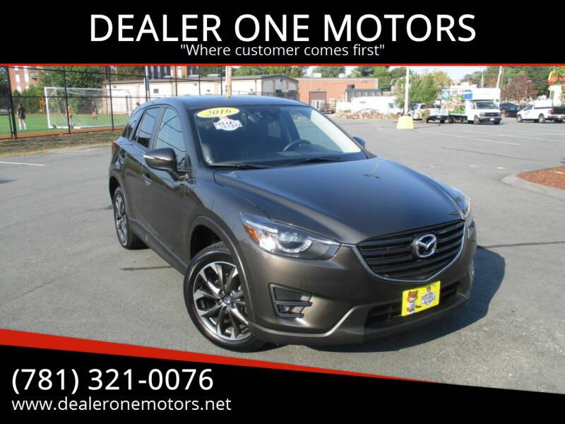 2016 Mazda CX-5 for sale at DEALER ONE MOTORS in Malden MA