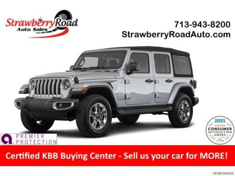 2019 Jeep Wrangler Unlimited for sale at Strawberry Road Auto Sales in Pasadena TX
