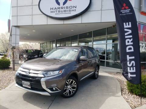 2016 Mitsubishi Outlander for sale at Harrison Imports in Sandy UT