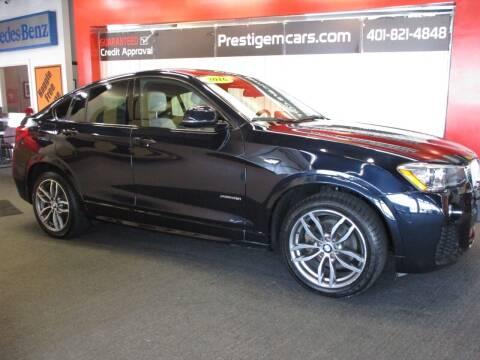 2016 BMW X4 for sale at Prestige Motorcars in Warwick RI