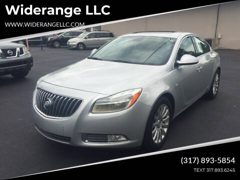 2011 Buick Regal for sale at Widerange LLC in Greenwood IN