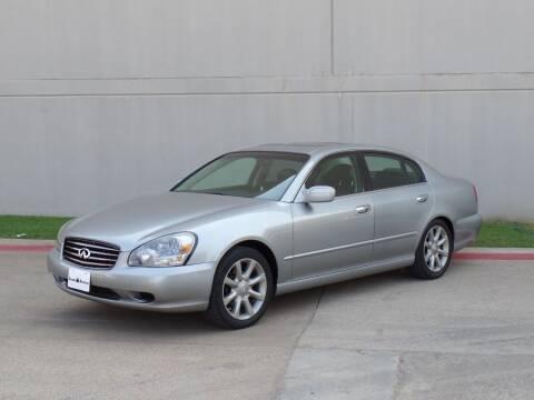 2002 Infiniti Q45 for sale at CROWN AUTOPLEX in Arlington TX