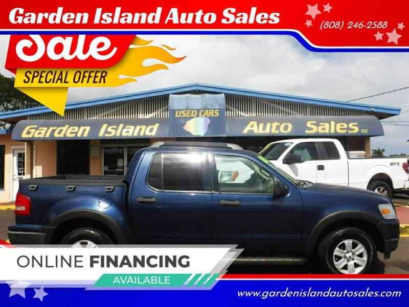 2008 Ford Explorer Sport Trac for sale at Garden Island Auto Sales in Lihue HI