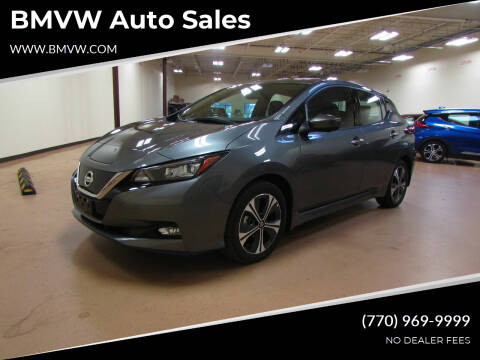 2020 Nissan LEAF for sale at BMVW Auto Sales - Electric Vehicles in Union City GA