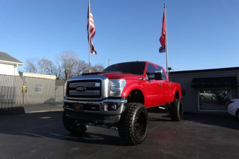 2015 Ford F-250 Super Duty for sale at Danny Holder Automotive in Ashland City TN
