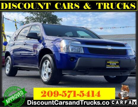 2005 Chevrolet Equinox for sale at Discount Cars & Trucks in Modesto CA