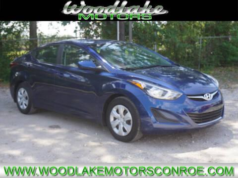 2016 Hyundai Elantra for sale at WOODLAKE MOTORS in Conroe TX