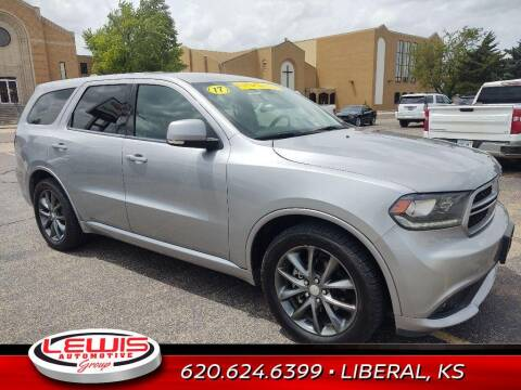 2017 Dodge Durango for sale at Lewis Chevrolet Buick of Liberal in Liberal KS