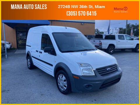 2011 Ford Transit Connect for sale at MANA AUTO SALES in Miami FL