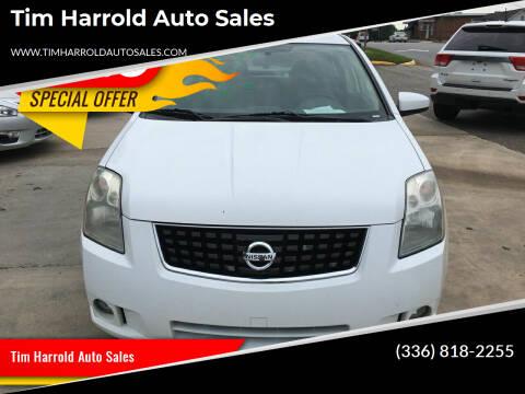 2008 Nissan Sentra for sale at Tim Harrold Auto Sales in Wilkesboro NC