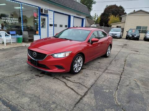 2015 Mazda MAZDA6 for sale at MOE MOTORS LLC in South Milwaukee WI