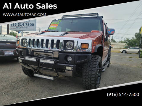 2003 HUMMER H2 for sale at A1 Auto Sales in Sacramento CA