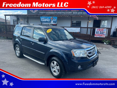 2011 Honda Pilot for sale at Freedom Motors LLC in Knoxville TN