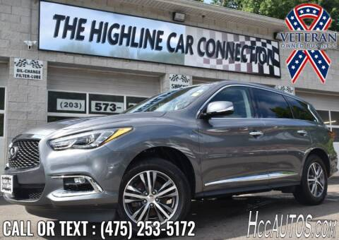 2019 Infiniti QX60 for sale at The Highline Car Connection in Waterbury CT