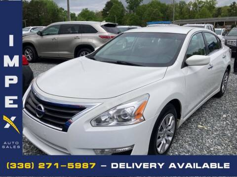2015 Nissan Altima for sale at Impex Auto Sales in Greensboro NC