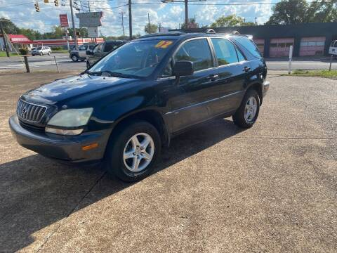 2002 Lexus RX 300 for sale at The Auto Lot and Cycle in Nashville TN
